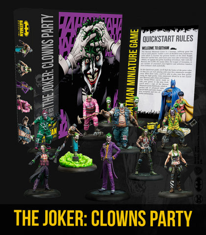 Batman: The Joker: Clowns Party