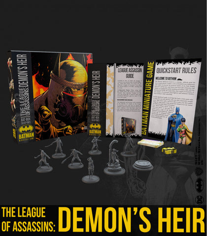 Batman: The League of Assasins: Demon's Heir