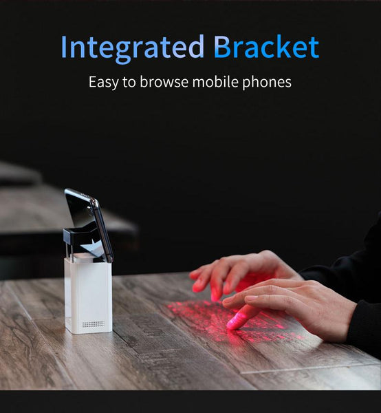 Image of a Virtual keyboard Bluetooth laser keyboard - Cool Portable mini keyboard - EasyTechGO - Smart Gadgets