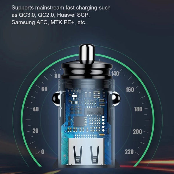 Image of a iGo Compact Dual USB Car Charger - EasyTechGO - USB Car Charger