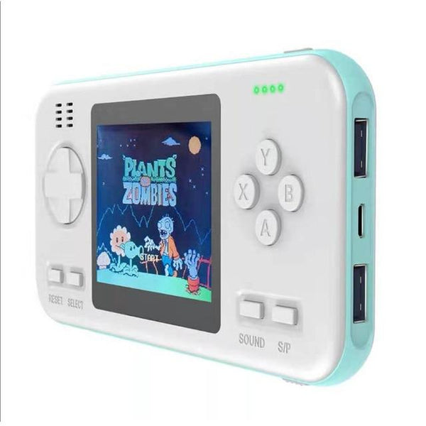 Retro Console Handheld Power Bank with 8000mAh battery and 416 Classic Games built-in - EasyTechGO -