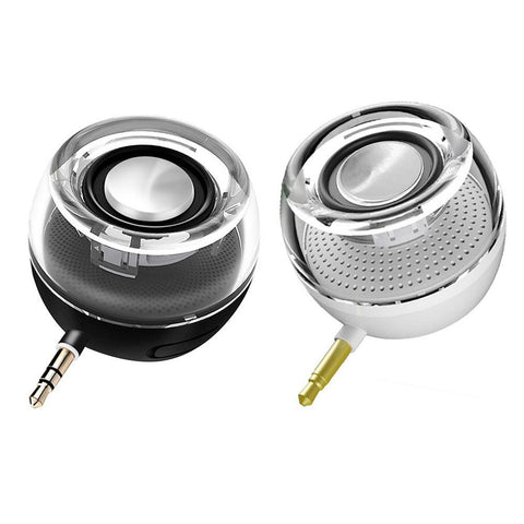 Portable Speaker Mini Plug-in Speaker - Amplify your sound! - EasyTechGO - speakers