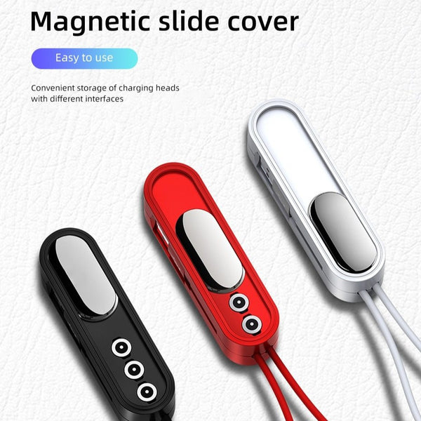 iGo Charge - Charging cable Magnetic Cable Universal Charging storage Design - EasyTechGO - Cables