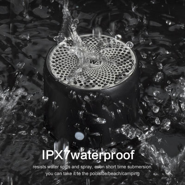 Bluetooth Speaker IPX7 Waterproof Shower Mini Speaker - EasyTechGO - speakers