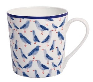 Bone China Tasse Colourful Flowers