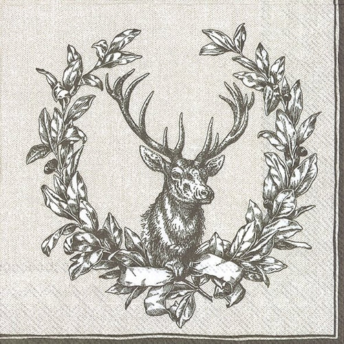 Lunch-Servietten 'Country Deer' linen