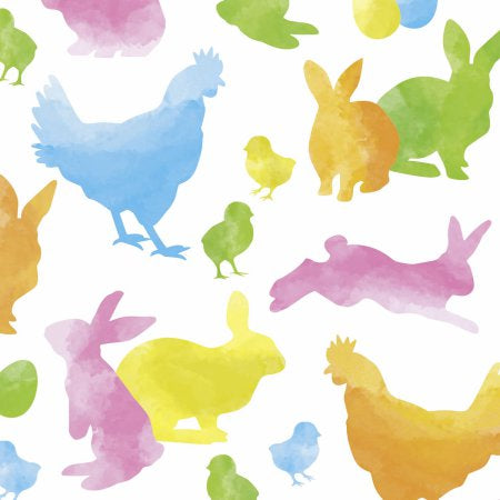 Lunch-Servietten 'Colourful Rabbits'
