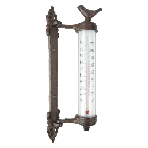 Wand-Thermometer 'Vogel'