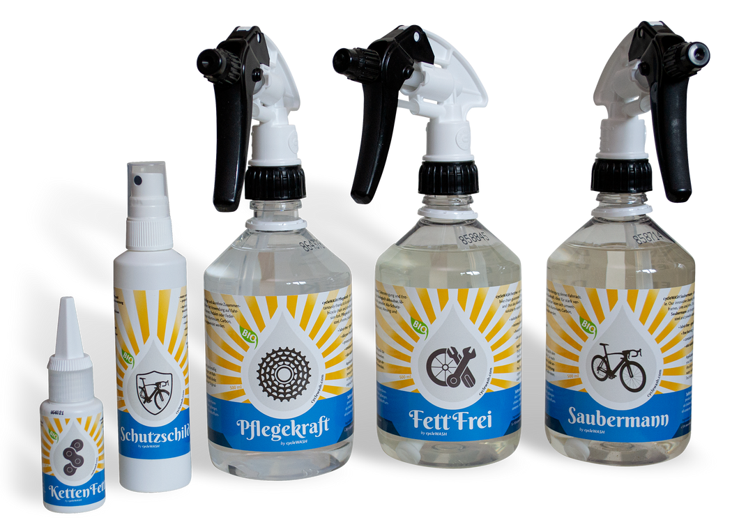 cycleWASH® Starter Set inkl. MWSt. - CW Cleaning Solutions GmbH