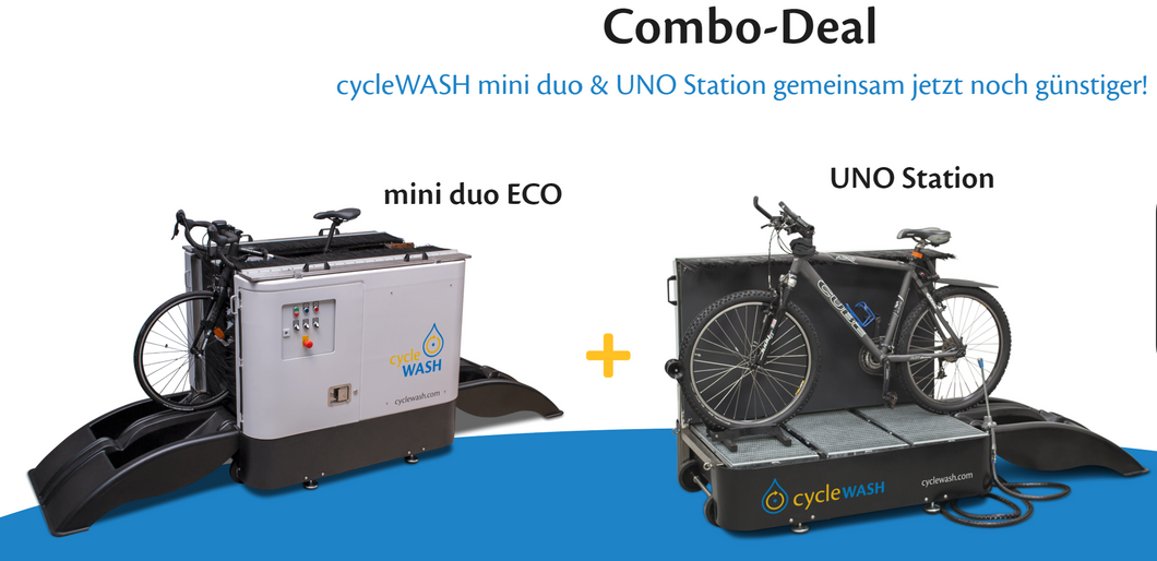 cycleWASH® miniDUO Combi Deal inkl. MWSt. - CW Cleaning Solutions GmbH