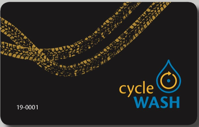 cycleWASH® Kundenkarte 5 + 3 Gratiswäsche  inkl. MWSt. - CW Cleaning Solutions GmbH