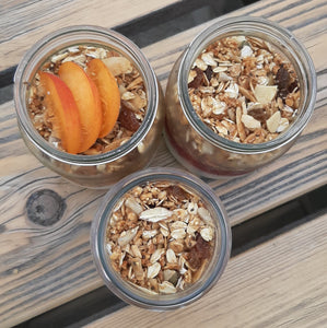 Tuesday Breakfast Jars