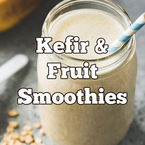 Kefir Smoothie Jars