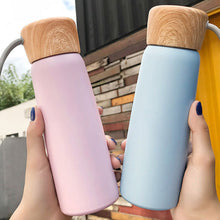 Load image into Gallery viewer, 500ml Portable Vacuum Flask Outdoor Thermal Cup Tea Coffee Soup Water Bottle Mug
