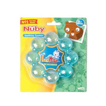 Load image into Gallery viewer, Nuby Icybite Soothing Ring Teether