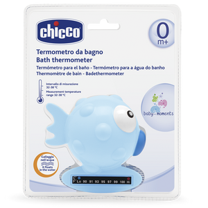 Fish Bath Thermometer - Blue