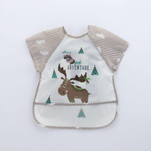 Load image into Gallery viewer, Bubify Short Sleeve Smock Bib - Bubify