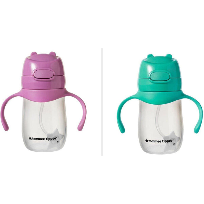 Tommee Tippee Weighted Straw Cup 240mL - Bubify