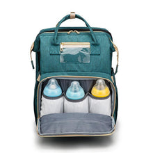 Load image into Gallery viewer, Bubify 2 in 1 Nappy Bag - Teal - Bubify