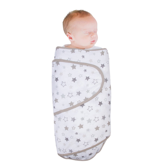 Miracle Blanket - Grey Stars