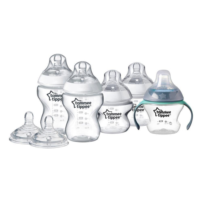 Tommee Tippee Closer To Nature Bottle Feeding Starter Kit: Includes Bottles and Teats - Bubify