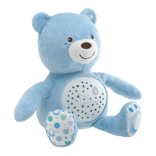 Load image into Gallery viewer, Chicco Soft Plush Baby Bear Lullaby