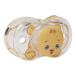 RaZbaby Keep-It-Kleen Pacifier Bear