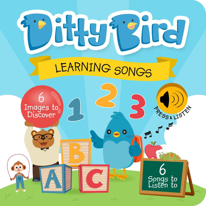 Ditty Bird - Learning Songs Board Book - Bubify