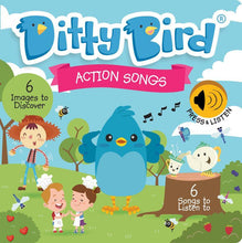 Load image into Gallery viewer, Ditty Bird - Action Songs Board Book - Bubify