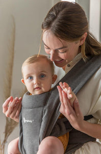 Embrace Baby Carrier - Heather Grey