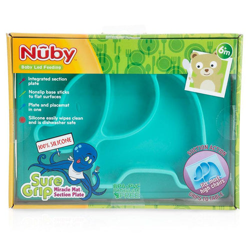 Nuby Sure Grip Silicone Animal Placemat