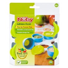 Load image into Gallery viewer, Nuby Garden Fresh Freezer Pots