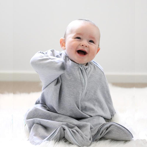 Sleep Hugs Swaddle - Cool Grey (ALL SEASONS)