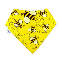 Load image into Gallery viewer, Bandana Bibs 4 Pack - Honey - Bubify