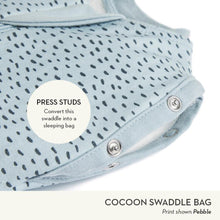 Load image into Gallery viewer, ergoPouch Cocoon Swaddle Bag 1.0 TOG - Grey Marle - Bubify