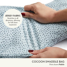 Load image into Gallery viewer, ergoPouch Cocoon Swaddle Bag 1.0 TOG - Grey Marle