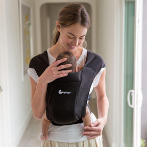 Embrace Baby Carrier - Pure Black - Bubify