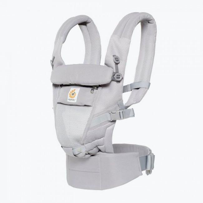 Ergobaby Adapt Cool Air Mesh Baby Carrier - Pearl Grey - Bubify