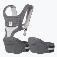 Load image into Gallery viewer, Ergobaby Hip Seat Cool Air Mesh - Carbon Grey - Bubify