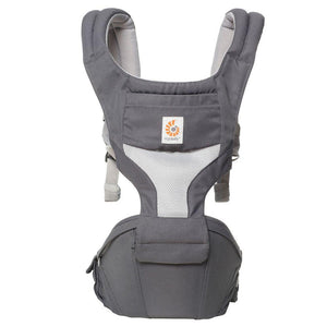 Ergobaby Hip Seat Cool Air Mesh - Carbon Grey - Bubify