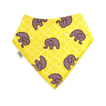 Load image into Gallery viewer, Bandana Bibs 4 Pack - Elephants - Bubify
