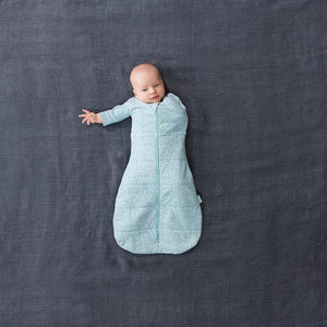 ergoPouch Cocoon Swaddle Bag 1.0 TOG - Pebble - Bubify