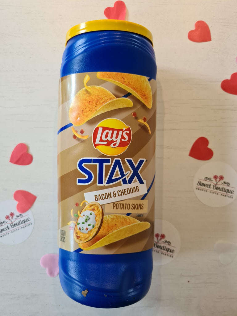 Lays Stax Bacon and Cheddar