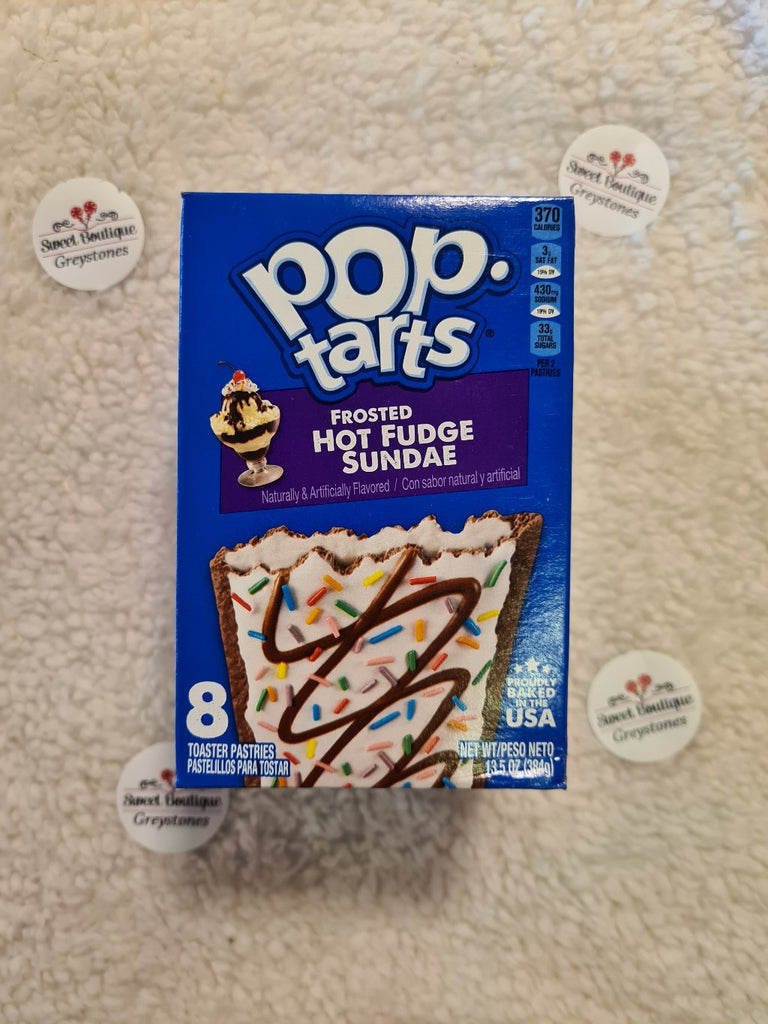 Pop tarts Hot Fudge Sunday