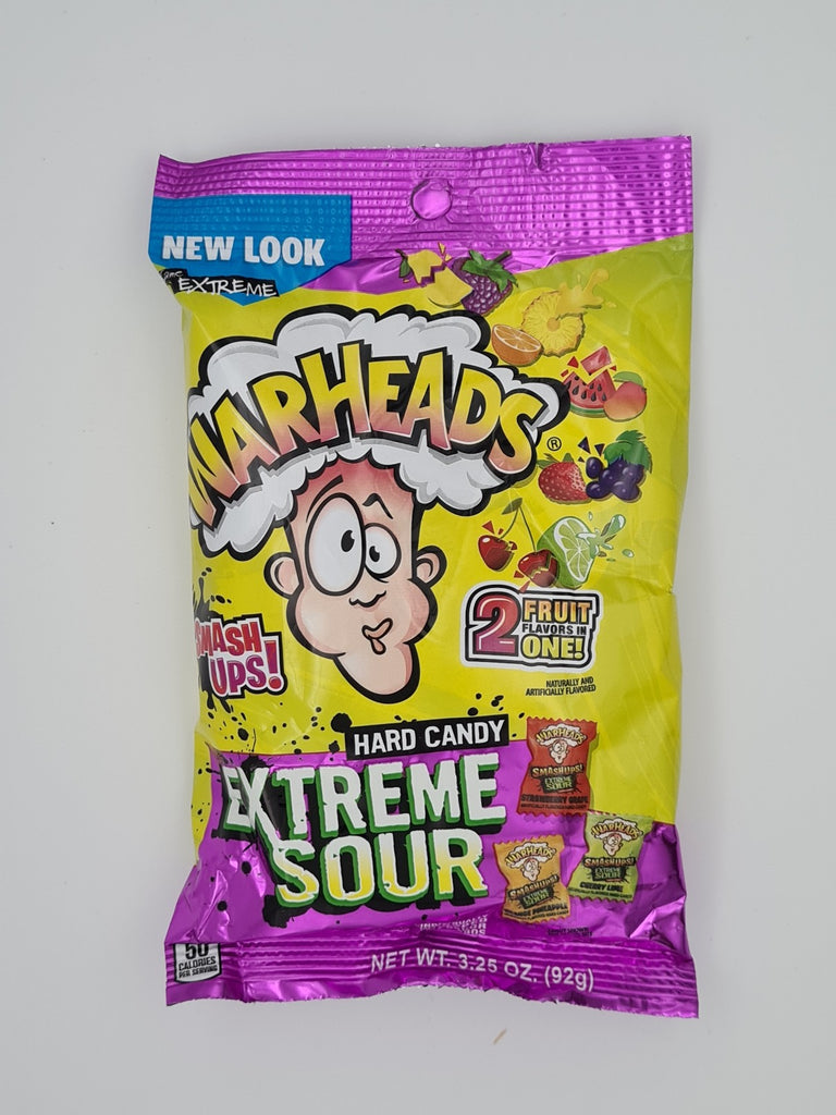 Warheads Extreme Sour Hard Candy 92g