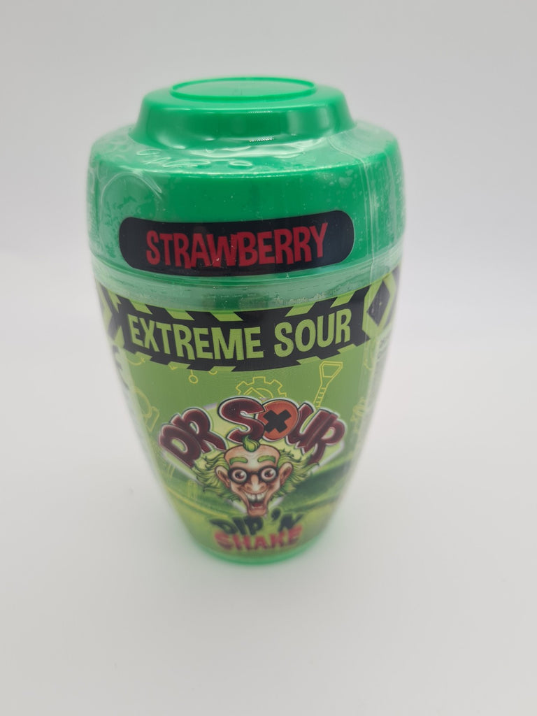 Dr Sour Extreme Sour Dip n Shake Strawberry 21g
