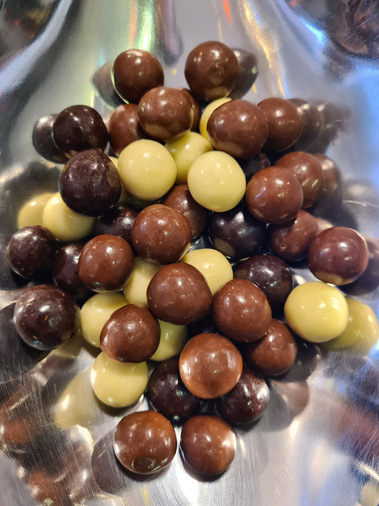 Chocolate covered crispys