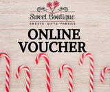 Sweet Boutique.ie Gift Voucher
