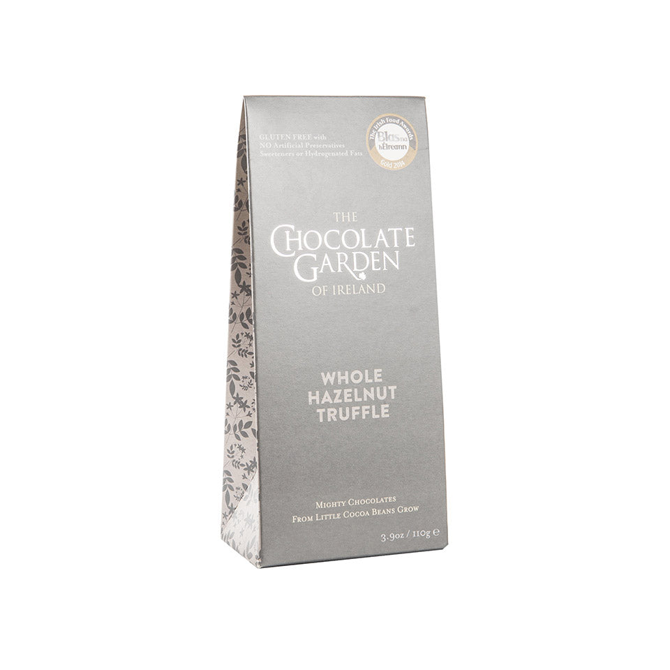 The Chocolate Garden Whole Hazelnut Truffle Pouch 110g