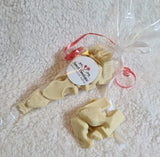 White Chocolate Fish and Chips Cone Bag
